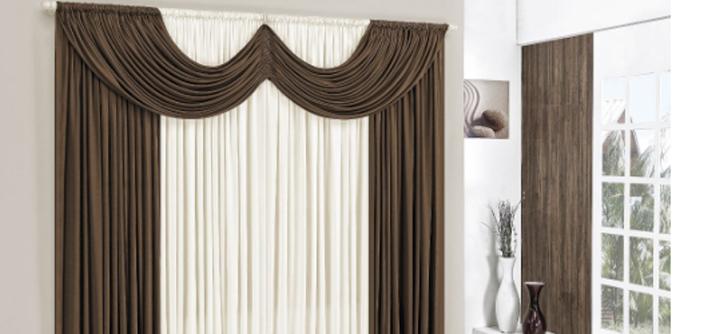 Est precisando de uma cortina para a sala confira 4 for Modelos de cortinas de tela