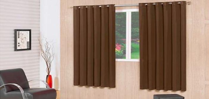 Admirare 4 maneiras de combinar a sua cortina rústica com a sala de estar