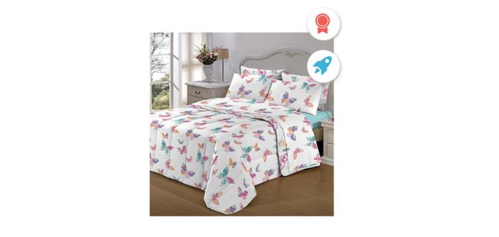 26408efbba Admirare 5 dicas para escolher o modelo ideal de jogo de lençol para cama  box casal