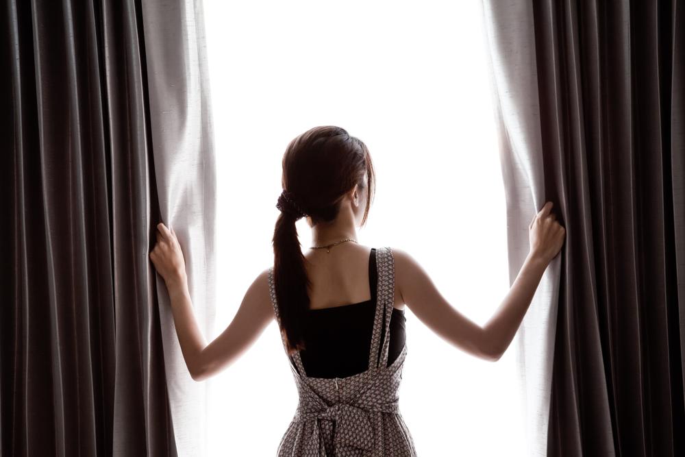 lavar suas cortinas de forma simples