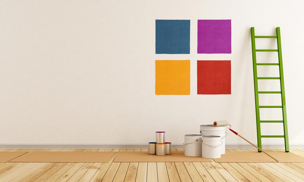 pintar o quarto